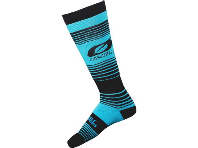 O'Neal Pro MX Socks Stripes teal